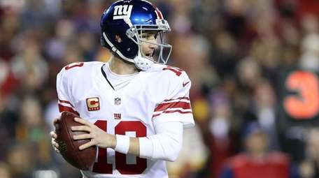 New York Giants quarterback Eli Manning has beaten