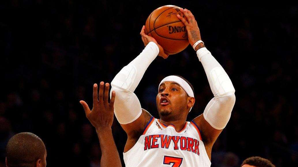 Carmelo Anthony's shooting woes continue in Knicks' loss ...