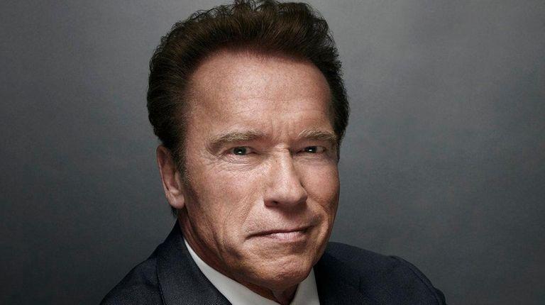 Former California Gov. Arnold Schwarzenegger debuted as the