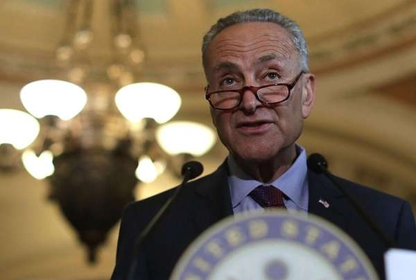 Sen. Schumer will speak about how the Democrats