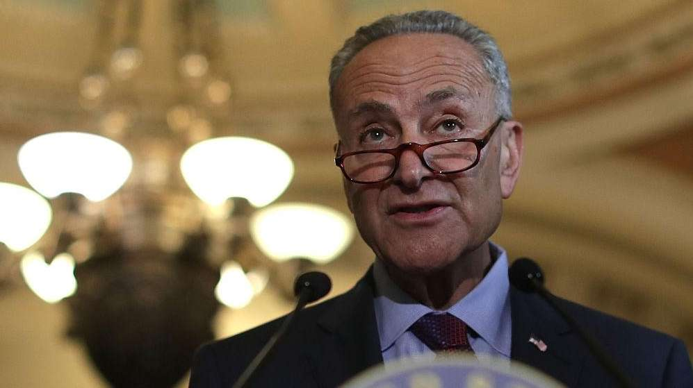 Sen. Schumer will speak about how the Democrats
