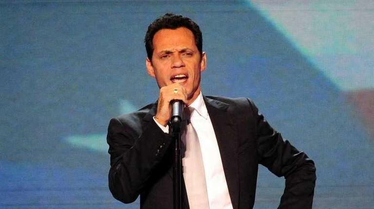 Marc Anthony will be among the performers during
