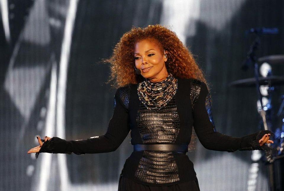 Singer Janet Jackson and husband, Qatari billionaire and