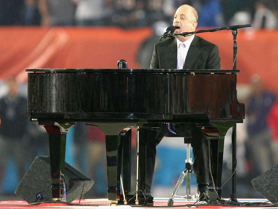Jan. 22, 1989: Billy Joel sings the National