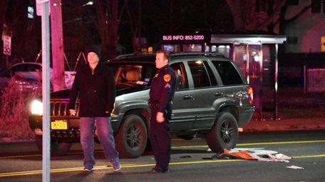 Investigators respond to the scene where Arquimides Barrera,
