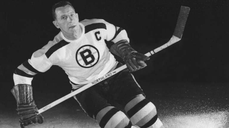 Schmidt led the Bruins to two Stanley Cups