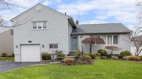 A split-level house, listed for $525,000 in January