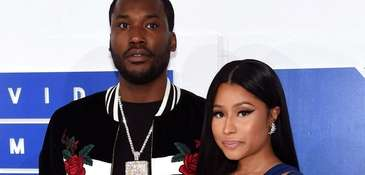 Nicki Minaj, right, confirms that she and rapper