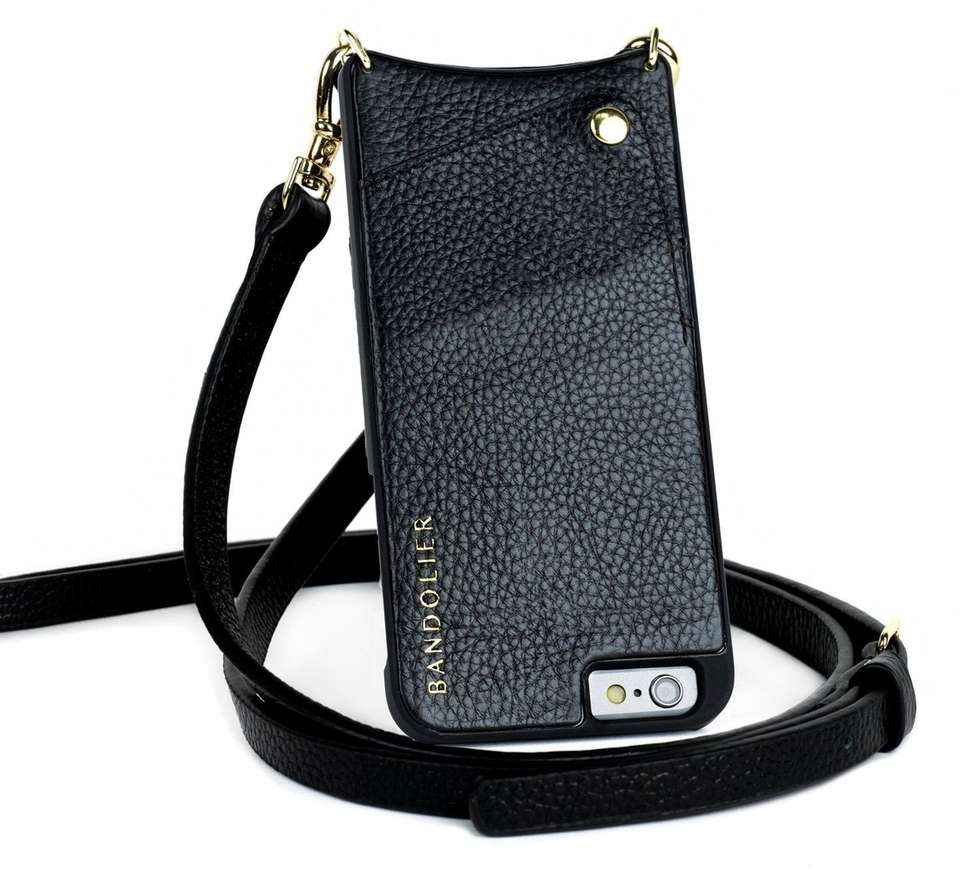 NAME Bandolier Cross-body Case for iPhone COST $80,