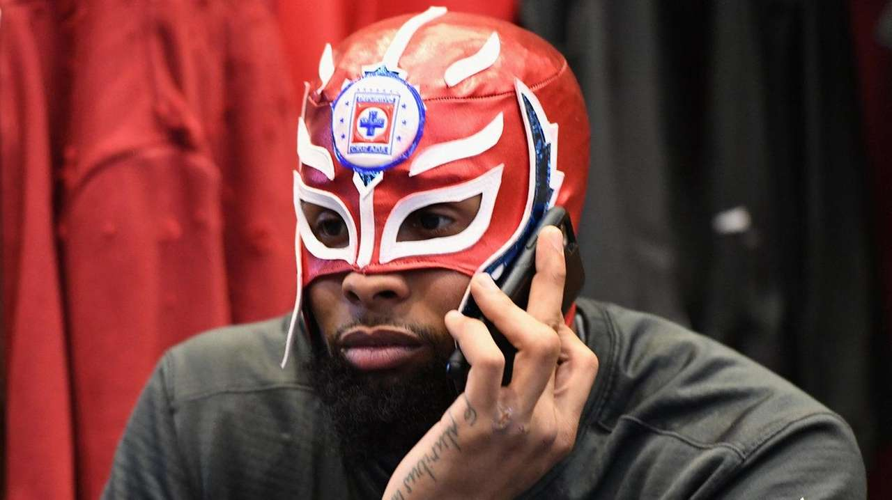 Odell beckham the life of the party in giants locker room newsday m4hsunfo