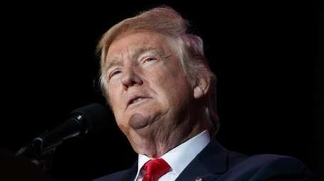 President-elect Donald Trump speaks in Orlando, Fla., on
