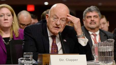 Director of National Intelligence James Clapper testifies before