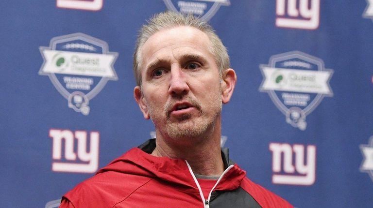 New York Giants Defensive Coordinator Steve Spagnuolo answers
