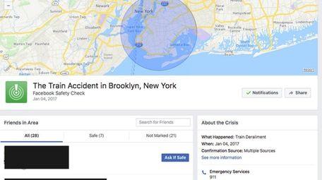 An LIRR train accident at Brooklyn's Atlantic Terminal