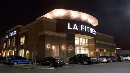The LA Fitness sports club in Garden City