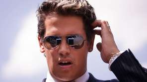 Milo Yiannopoulo, a conservative columnist and internet personality,