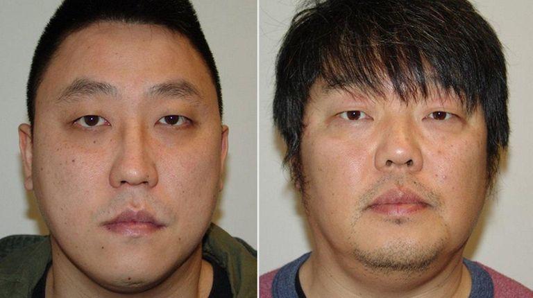 From left, Seul Han, 31, and Hyun Joon