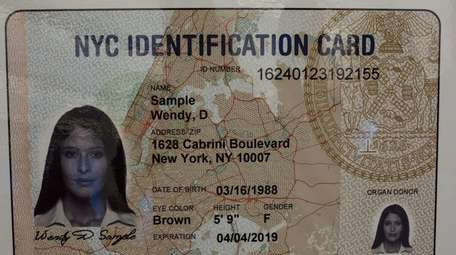 IDNYC cardholder information will be retained by the
