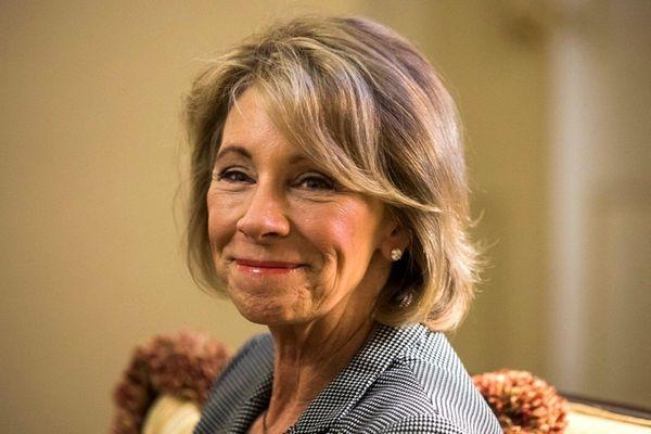 President-elect Trump's nominee for Education Secretary, Elisabeth