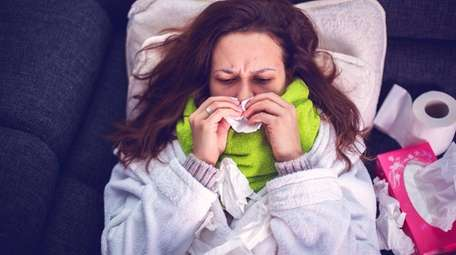 Getting over a bout of bacterial pneumonia can