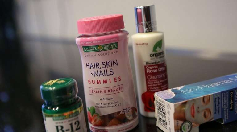 Some of the products sold by Ronkonkoma-based Nature's