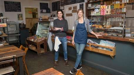 Fork & Anchor co-owners Lucy Muellner, left, and