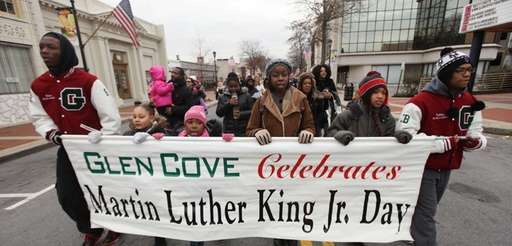 The Martin Luther King Jr. Day march in