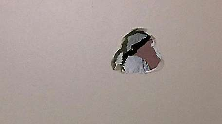 Odell Beckham Jr. reportedly punched this hole in