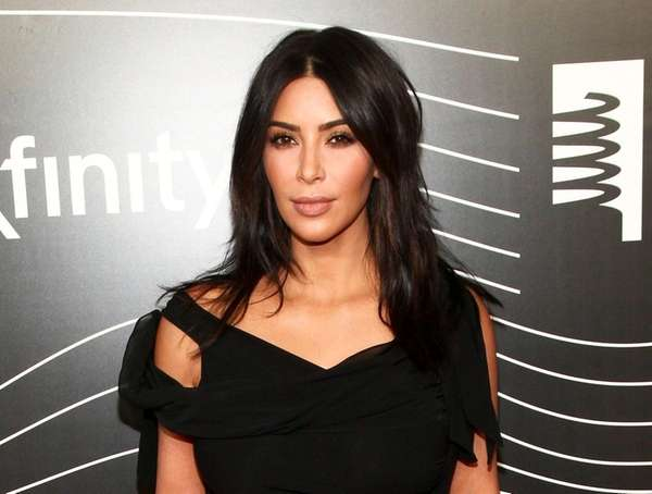 Kim Kardashian West attends the 20th Annual Webby