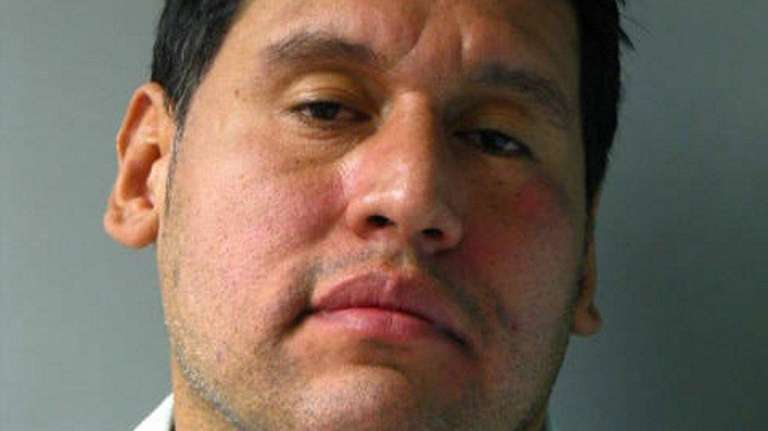 Joseph Scarangella, 38, of East Hills, was arrested