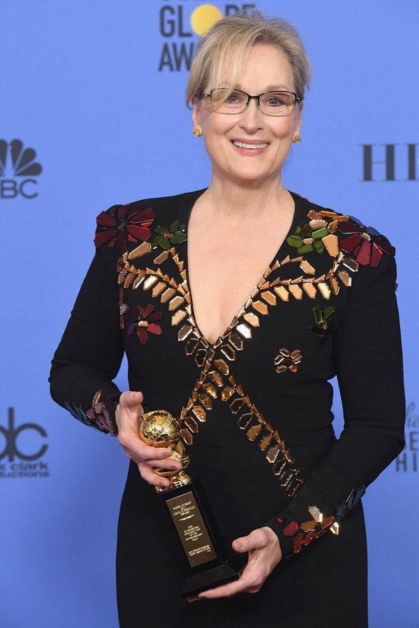 Actress Meryl Streep, after receiving her Cecil B.