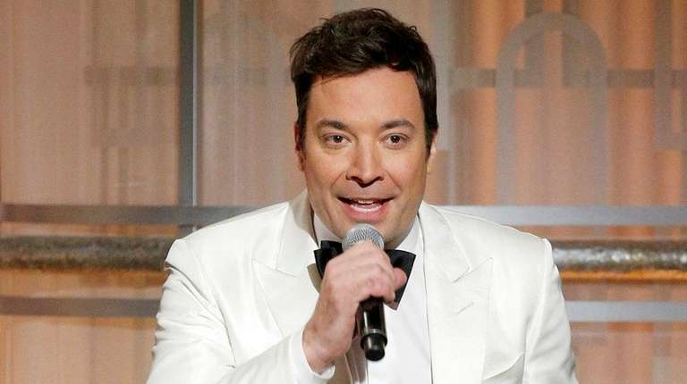 Host Jimmy Fallon onstage during the 74th Annual