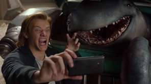 A teenager (Lucas Till) discovers a mysterious creature who