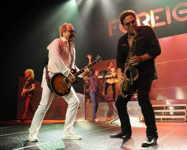 Mick Jones and Tom Gimbel of Foreigner will