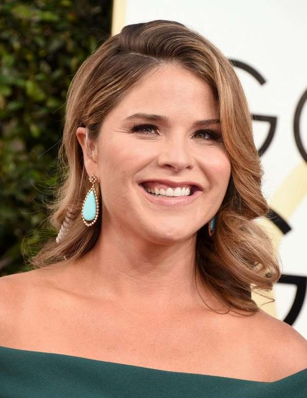 Jenna Bush Hager was doing red-carpet interviews at