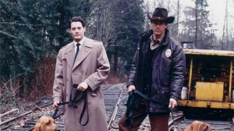 Kyle MacLachlan, left, will reprise his role as