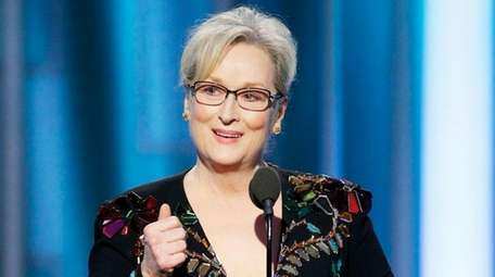 Meryl Streep delivered the mother of all Golden