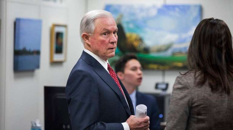 Jeff Sessions, a Republican senator from Alabama and