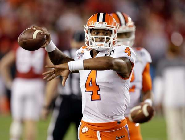 Deshaun Watson's National Football League combine numbers