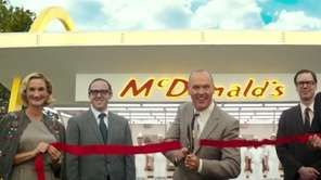 Michael Keaton plays Ray Kroc, the man who