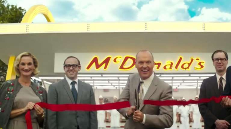 Michael Keaton plays Ray Kroc, the man who