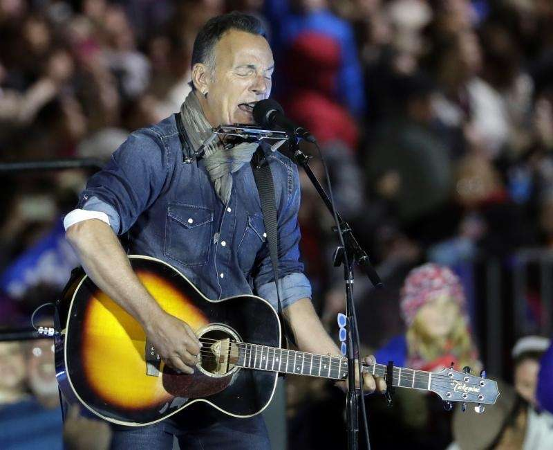The concert industry trade publication Pollstar said Springsteen