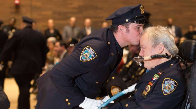 NYPD Officer Conor McDonald who was promoted to