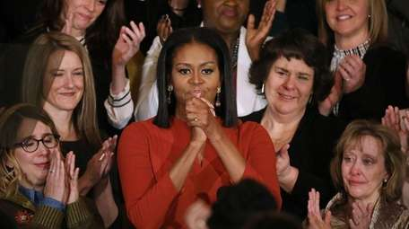 First lady Michelle Obama says farewell last week