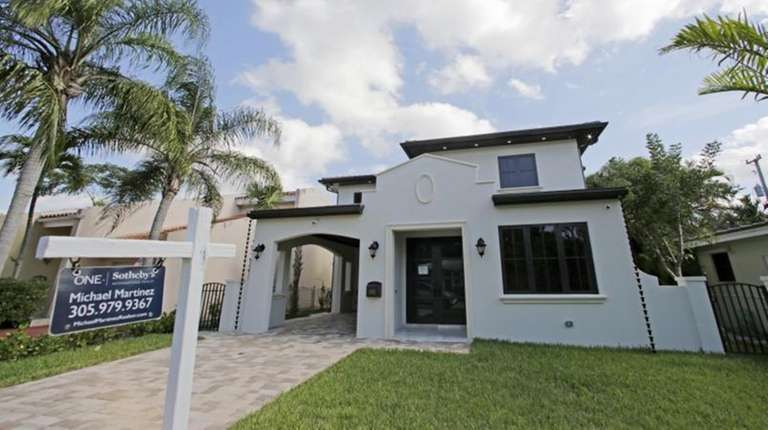 A house for sale in Coral Gables, Fla.