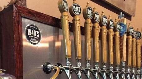 There are 10 beers on tap -- and