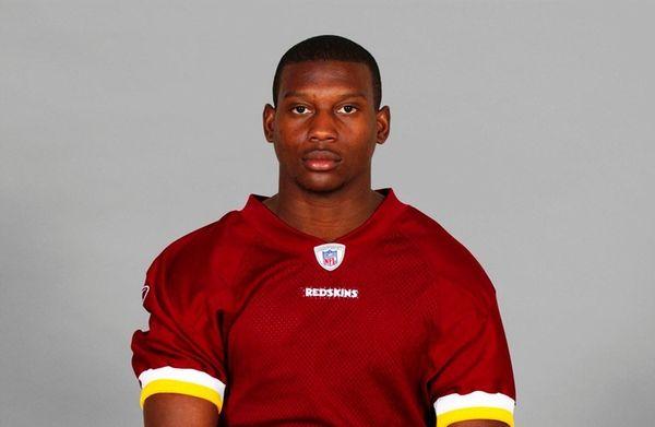 Dennard Wilson of the Washington Redskins poses for