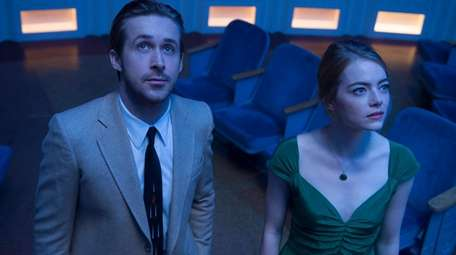 Ryan Gosling and Emma Stone in