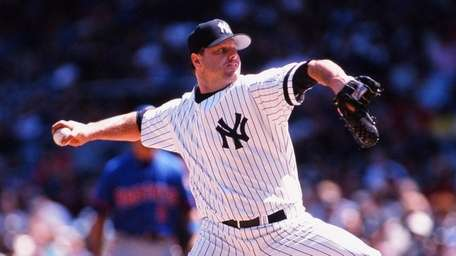 Roger Clemens of the New York Yankees