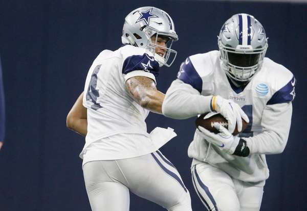 Dallas Cowboys star running back not injured following accident